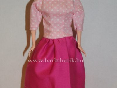 ejtett vállú barbie ruha