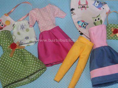 Barbie ruhakészítő csomagok