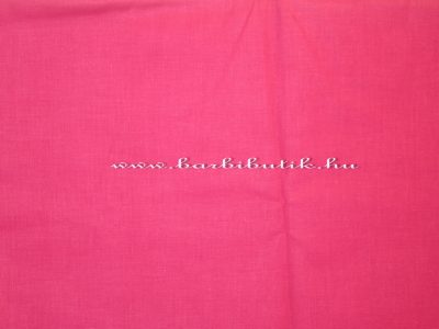 pink pamutvászon barbie ruhák készítéséhez