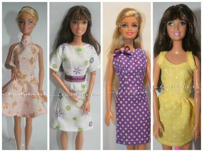 barbie ruha szabásminta