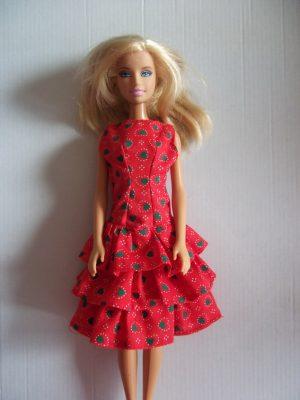 fodros ruha barbie KZS