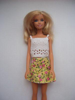 barbie  lapszoknya KZS