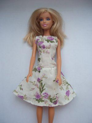 tulipános barbie ruha KZS