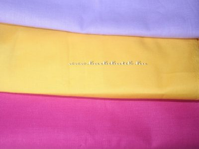 Egyszínű textilek