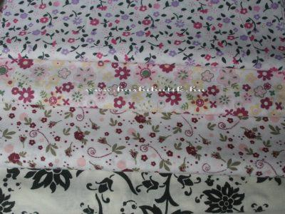 Virágos és egyéb mintás textilek