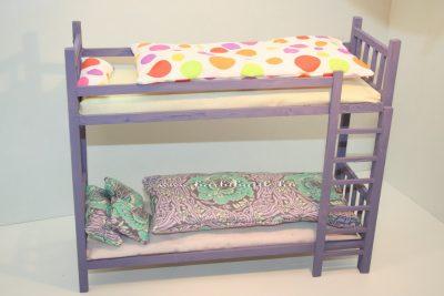 barbie emeletes ágy ágyneművel