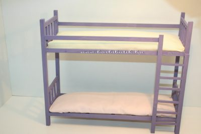 festett barbie emeletes ágy