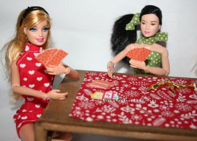 uno kártya, barbiek