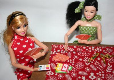 barbie kártyázás 4