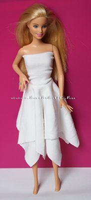 barbie szoknya négyzetekből kész 1