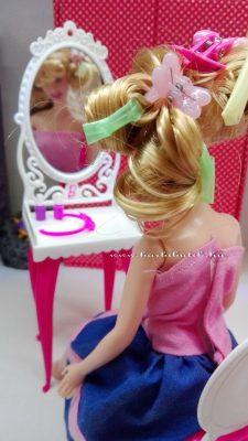 barbie gördör haj készítése