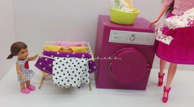 barbie ruha szárító és mosógép