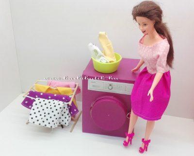 barbie ruhamosógép és szárító 9