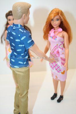 Ken és Isabel, barbiek