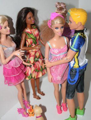 lányok buliban kris és barbie