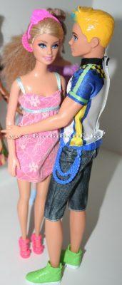 Kris és Barbie táncol