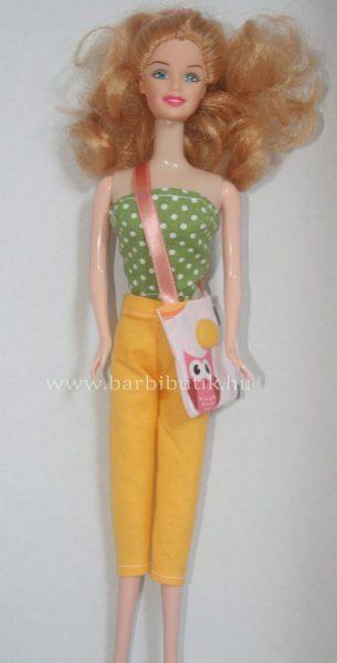 barbie ruha nadrág felővel táskával