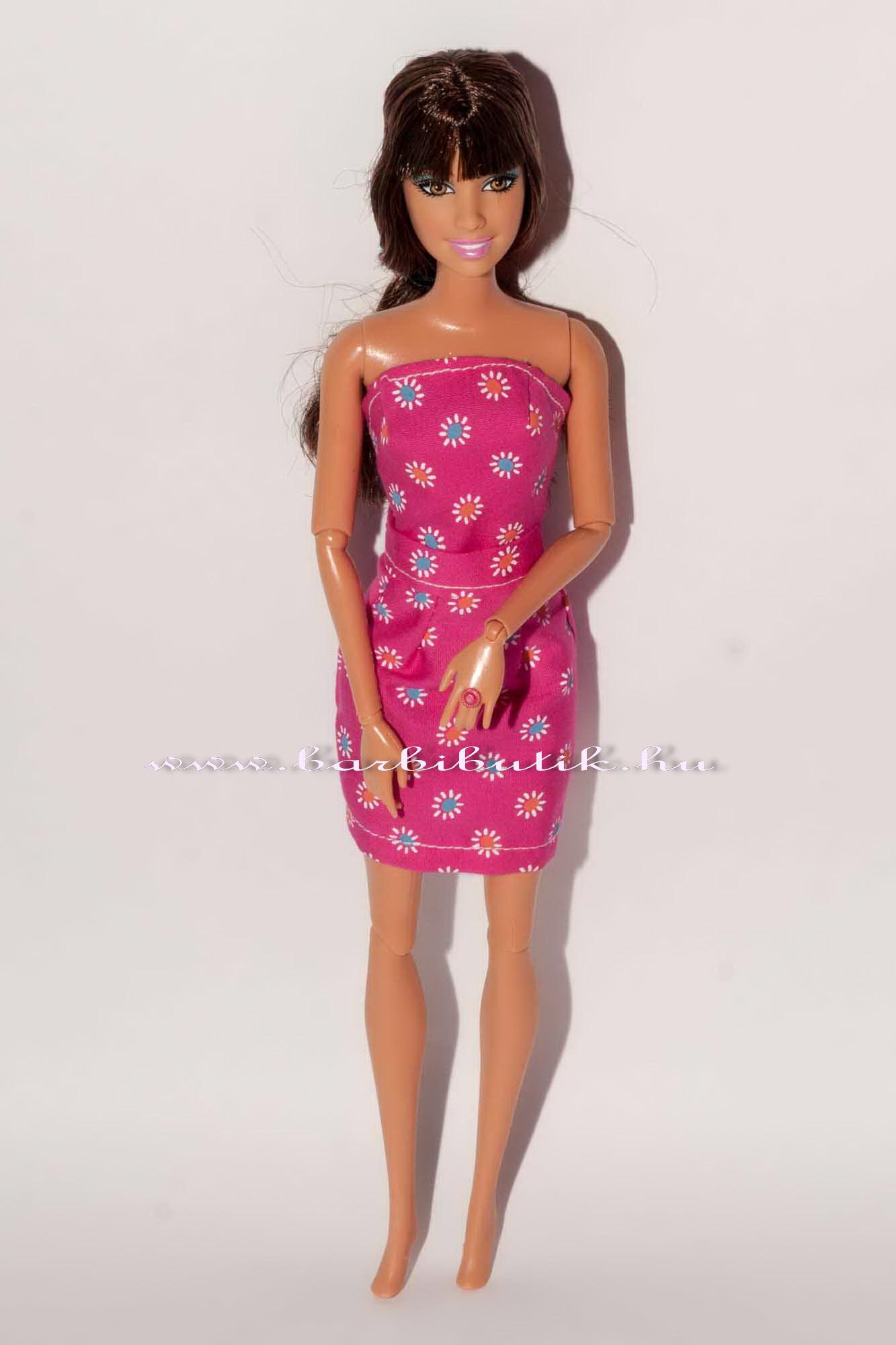 barbie ruha top szukitett szoknya