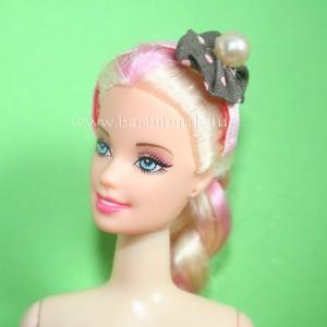 barbie hajráf rózsaszín