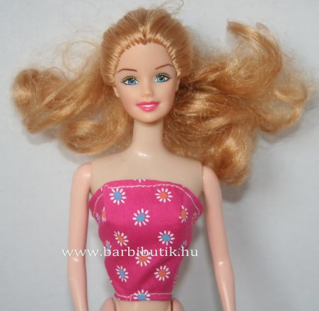 barbie ruha felső pink