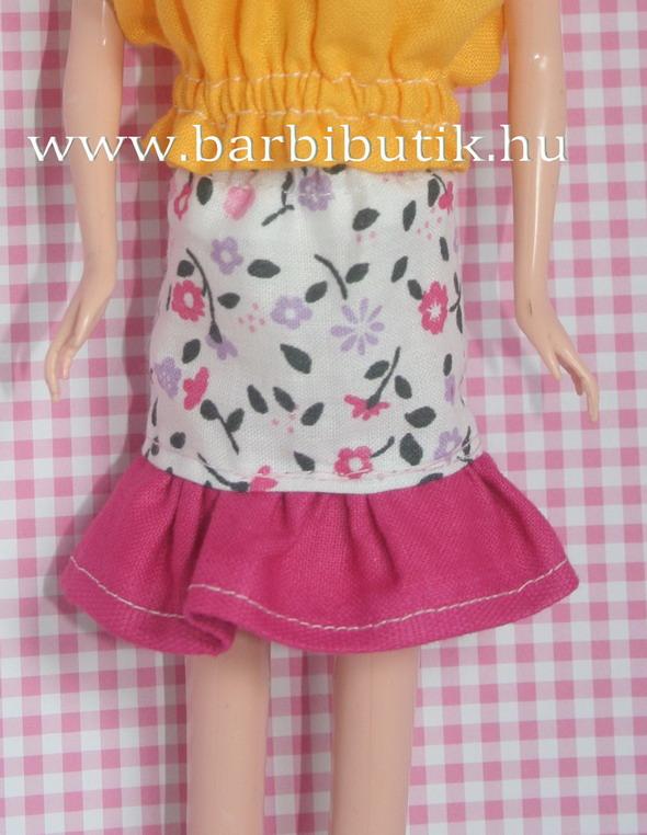 fodros barbie szoknya