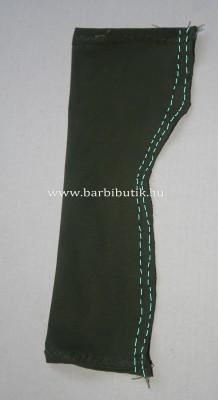 barbie ruha csőruha készítés 3