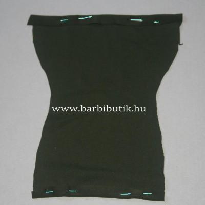 barbie ruha csőruha készítés