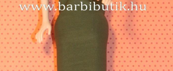 Barbie ruha rugalmas anyagból