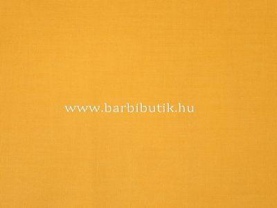 sárga pamutvászon barbie ruhához