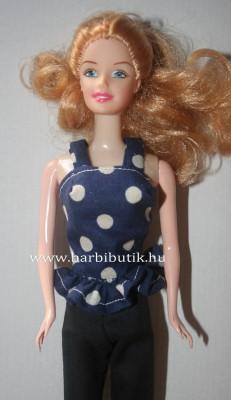 kek pottyos barbie top vekony panttal