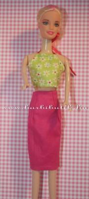 barbie szoknya és top