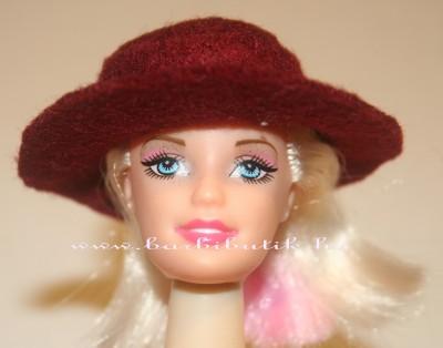 barbie kalap filcből