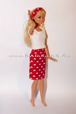 barbie szivecskés szett