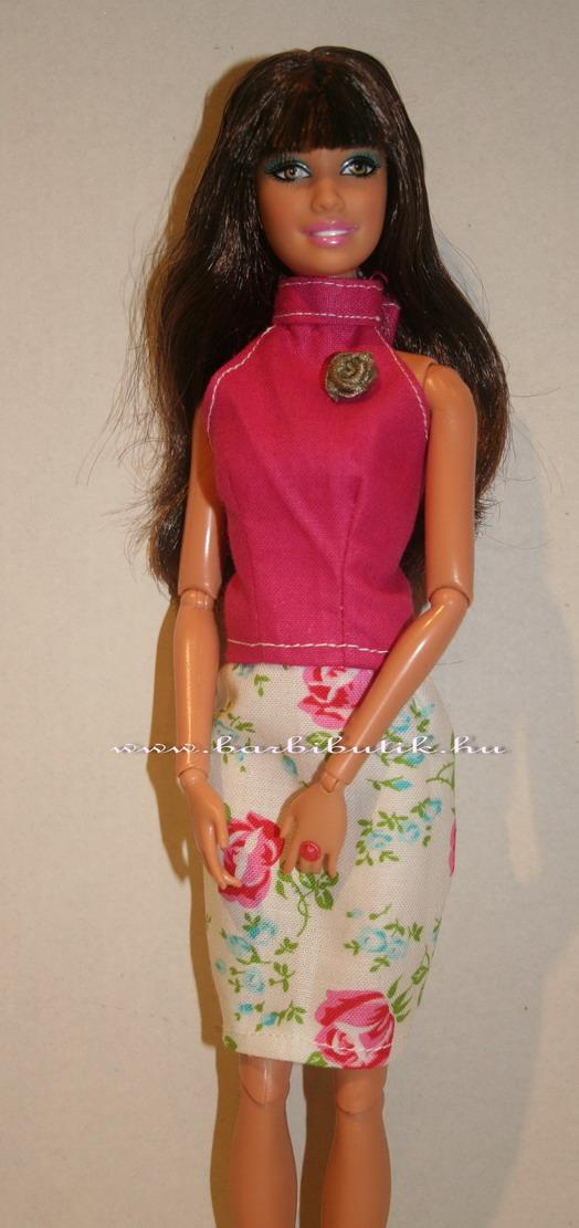 Barbie ruha szoknya