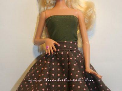 barbie ruha harangszoknya dupla