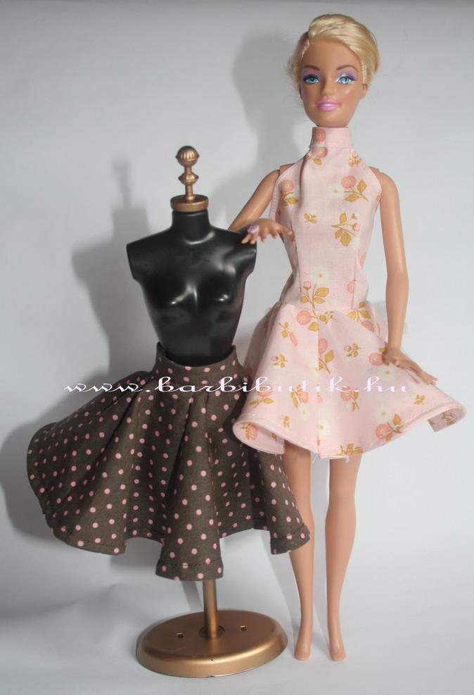 barack színű barbie ruha probabával