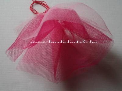 barbie tüll szoknya  rózsaszín