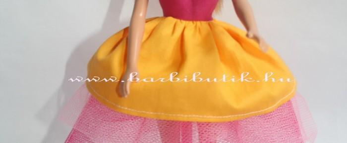 Tüll szoknya készítése barbie ruhához
