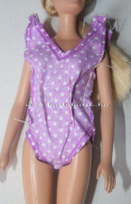 barbie fürdőruha készítés szűkítők jelölése