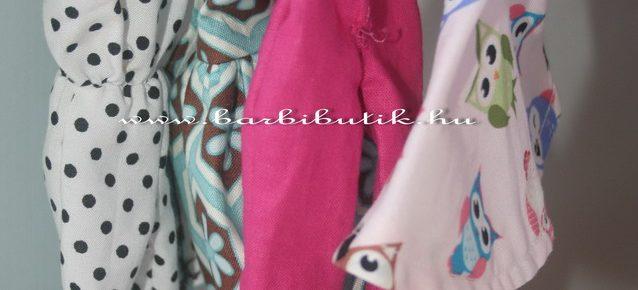 Vállfa készítés barbie ruhához