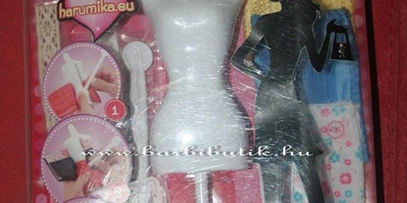 Kreatív divattervező készlet kislányoknak, ez a harumika