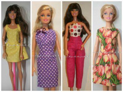 barbie ruha készítés