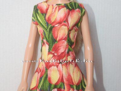 tulipános barbie ruha