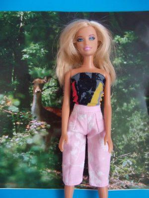 barbie  sztreccs bluz nadrág