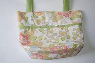 pasztell virágos táska