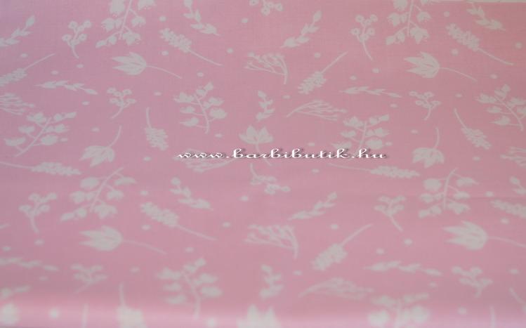 rózsaszín fuvallat designer pamutvászon