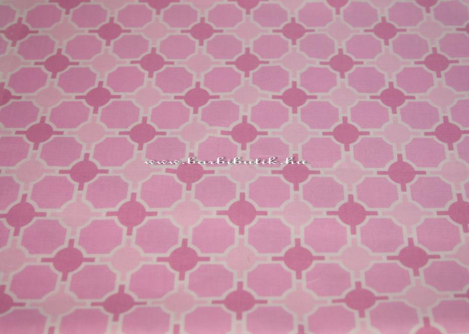 rózsaszín variációk pamutvászon