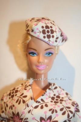 virágos barbie sapka