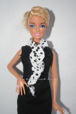 barbie sál pöttyös 3