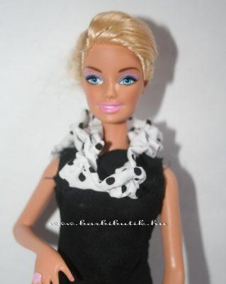 barbie sál pöttyös 4